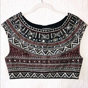 BILLABONG Jeweled Crop Top